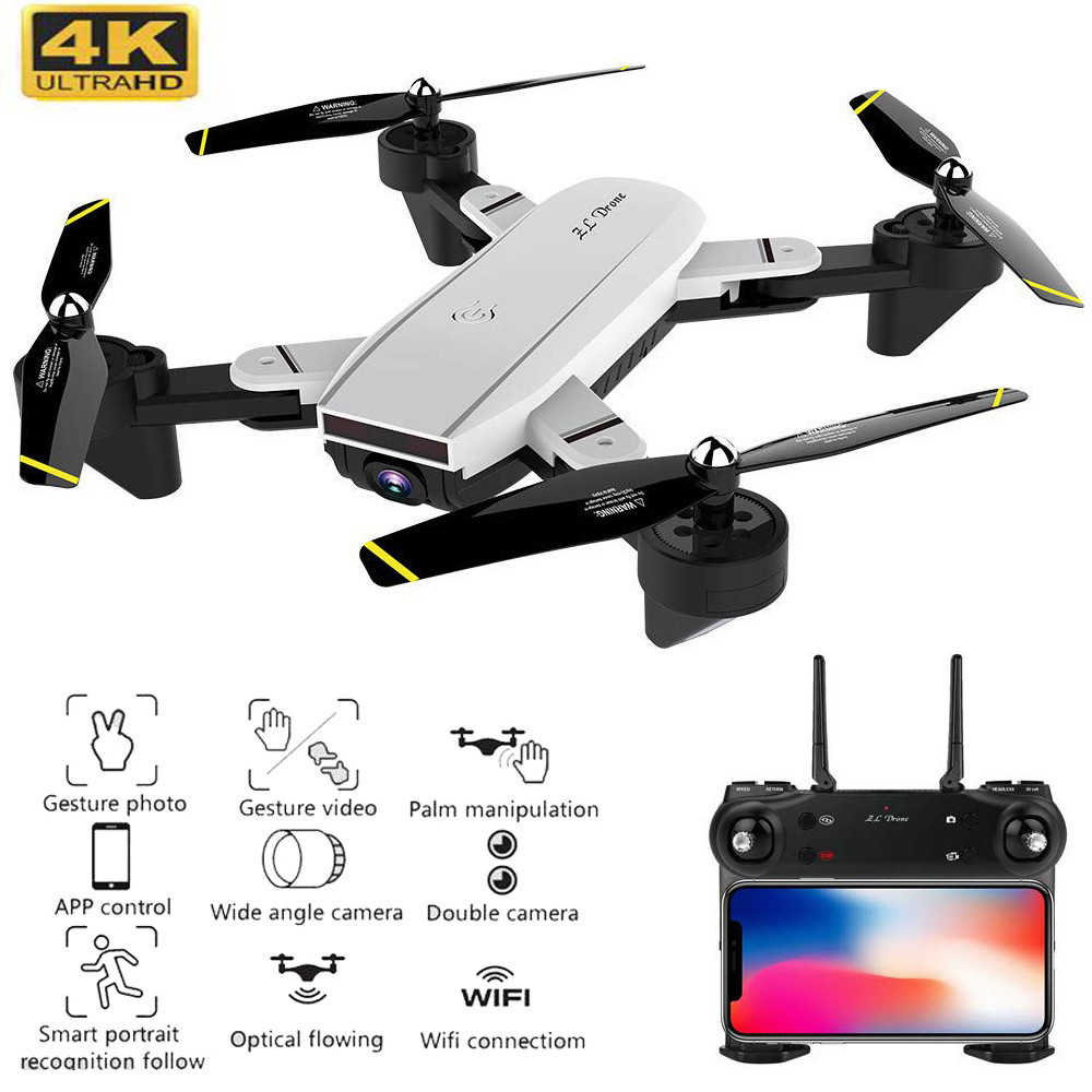 Beste 4K Drone Met Camera 1080P 50x Zoom Professionele Fpv Wifi Rc Drones Hoogte Houden Auto Return Dron quadcopter Rc Helicopter