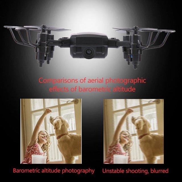 TXD G1 pliable Mini RC Drone WiFi Altitude tenir une clé décollage 360 degrés cascadeur haute/basse vitesse quadrirotor 2MP caméra