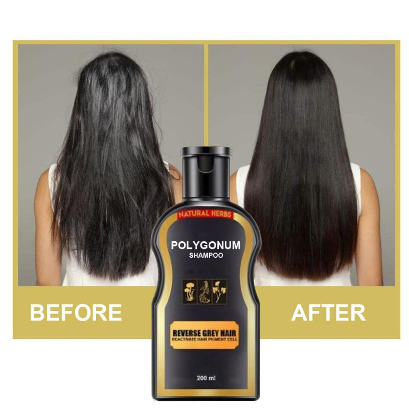 Grey Reverse Hair Color Shampoo White Removal Moisturize Repair Damaged Dry Hair Shampoo Darkening Hair Shampoo TSLM2|Shampoos| |  - AliExpress