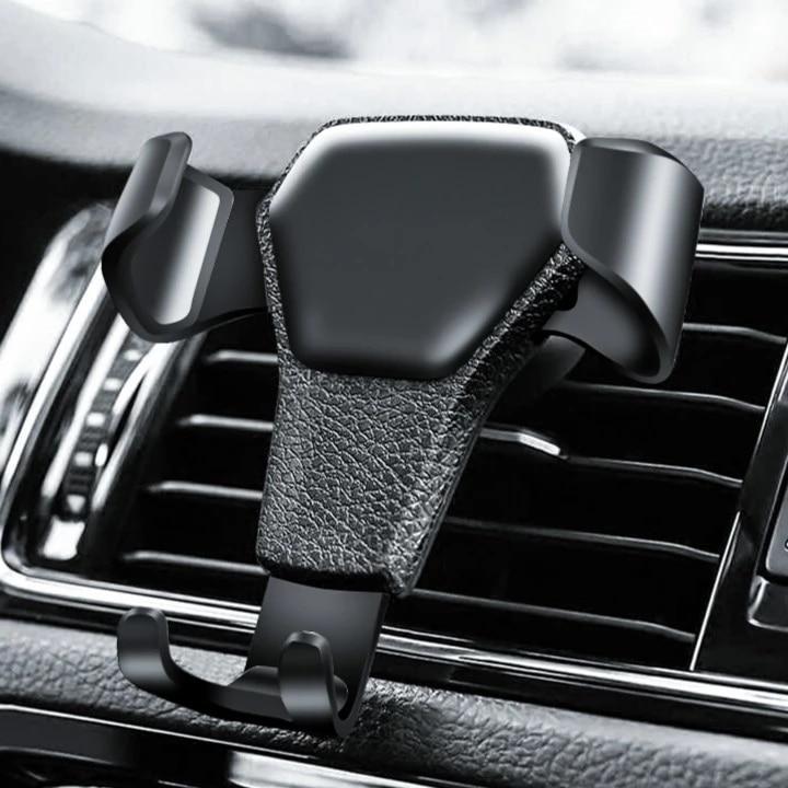 Гравитационный Автомобильный держатель для телефона с креплением на вентиляционное отверстие, подставка для мобильного телефона, держате...