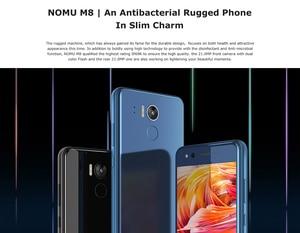 Image 2 - IP68 NOMU M8 4G الهاتف الذكي 5.2 بوصة أندرويد 7.0 MTK6750T ثماني النواة 1.5GHz 4GB RAM 64GB ROM 21.0MP كاميرا خلفية 2950mAh الهواتف المحمولة