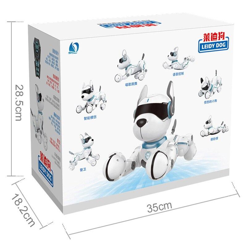 Control remoto Robot eléctrico perro rompecabezas juguetes para niños y niñas caminar juguete - 3