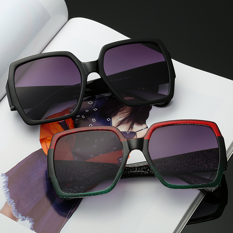 Big Rectangular Glasses Sexy Trend Products Women Sunglasses Classic Designer Adult Eyeglasses
