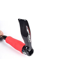 цена на Bike Handlebar 3K Bright Carbon Fiber Mountain Bike Bicycle Joint Deputy Carbon Handlebar Carbon Fiber Handlebar Carbon Tt Bar