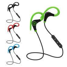 New Wireless Ear Hook Stereo Bluetooth Headphones Headset Sports Handfree Univer
