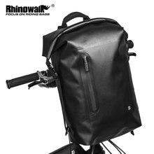 Велосипедный складной рюкзак rhinowalk на руль 20 л сумка для