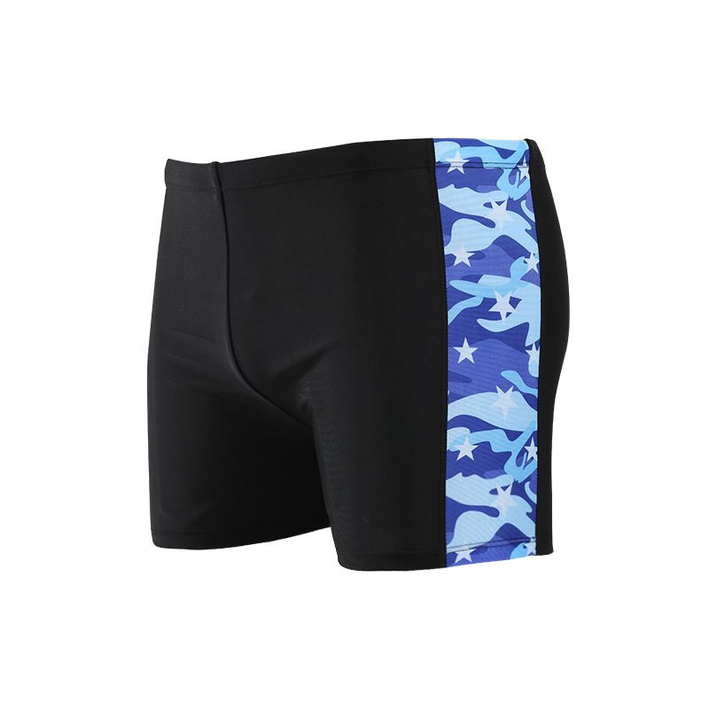Aussiebum Printed Sexy Men's Swimming Trunks Hot Springs Bathing Suit Plus-sized MEN'S Swimming Trunks