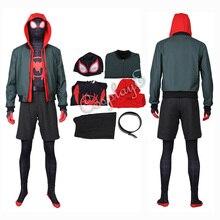 Костюм Человека-паука, костюм Человека-паука в стихах паука, костюм Майлза Моралеса