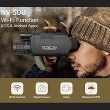 New D-380E WIFI 720 High Definition High-power Digital Night Vision Camera Video Hunting Patrol Monocular Infrared Telescope high definition low light level monocular night vision hunting patrol infrared telescope