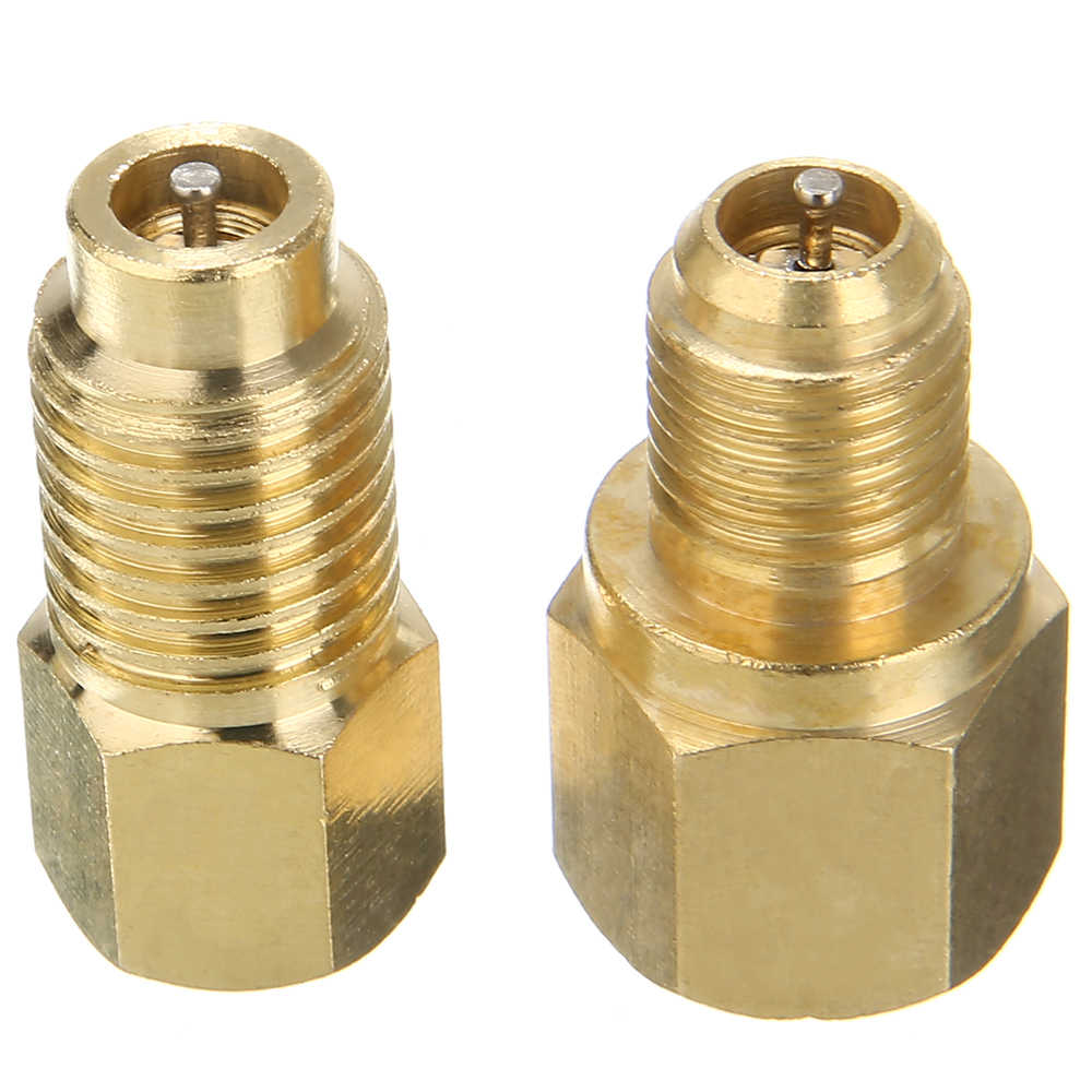 NEW Vacuum Pump Check Valve Kit Check Body 1//4 Male Flare Brass
