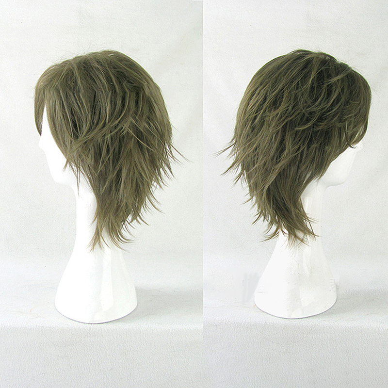 HAIRJOY  Synthetic Hair Wigs Short Curly Layered Cosplay Wig  4 Colors Available 23