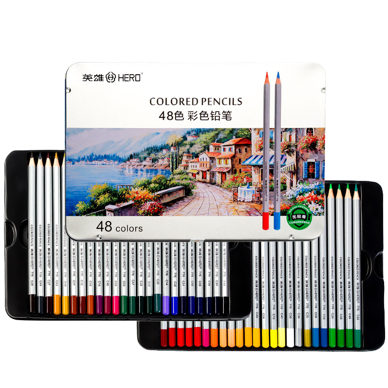 24/36/48/72 Color Professional Watercolor Pencil Set Art Sketch Drawing Wooden Lead Pencils Gift Art School Stationary Supplies