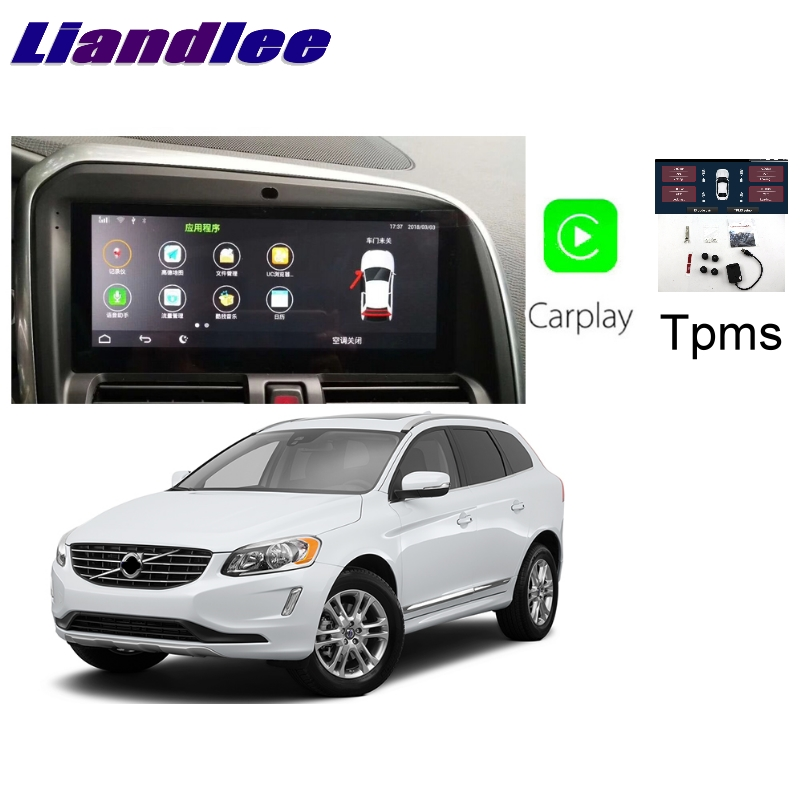 Liandlee Car Multimedia Player NAVI Large screen For <font><b>Volvo</b></font> XC60 <font><b>XC</b></font> <font><b>60</b></font> 2009~<font><b>2017</b></font> CarPlay TPMS Radio Stereo GPS Navigation image