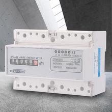 цена на 3 Phase Digital Electric Power AC 220V/380V 20-80A Energy Consumption Digital Electric Wattmeter KWh Meter Power