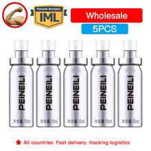 5-Pieces Peineili Wholesale Delay Spray For Men External Use Anti Prem