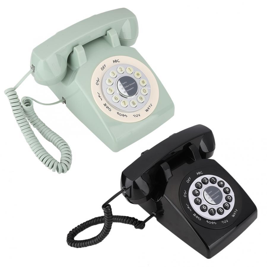 cordless phone Retro Style Vintage Old Fashioned Landline Phone Telephone Desk Phone telefon