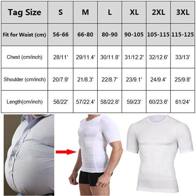 Classix Men Body Toning T-Shirt Slimming Body Shaper Corrective Posture Belly Control Compression Man Modeling Underwear Corset 2