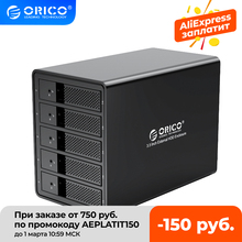ORICO 95 Serie Multi Bay 3.5 ''SATA zu USB 3,0 HDD Docking Station 16TB Interne HDD gehäuse Aluminium HDD Fall