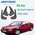 Auto Schlamm Flaps Für VW Golf 4 Mk4 IV Bora Jetta 1998 2005 Schmutzfänger Splash Guards Vorne Hinten Kotflügel kotflügel-in Kotflügel aus Kraftfahrzeuge und Motorräder bei