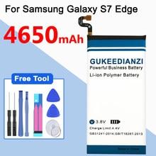 Handy Batterie EB-BG935ABE Für Samsung GALAXY S7 Rand G9350 G935FD SM-G935F 4650mAh Batteria + Kostenlose Tools Tracking-nummer