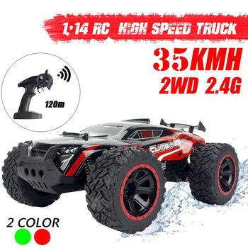 35Km/h 1/14 RC Car Remote Control Off Road Racing Cars Vehicle 2.4Ghz Crawlers Electric Off-Road Truck Adults RC Car Toys 2