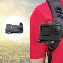 Камера + зажим + держатель + рюкзак + плечо + ремень + зажим + крепление + нескользящий + нескользящий + камера + зажим + для + Gopro + Hero9 + Osmo + Action + камера + аксессуар