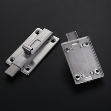 1 PCS Stainless Steel 2\3\4 Inch Door Latch Barrel Bolt Latch Hasp Stapler Gate Lock Safety Easy To Install 2 pcs padlock hasp door clasp hasp lock latch sus 304 stainless steel lock for fastening gate or cabinet doors