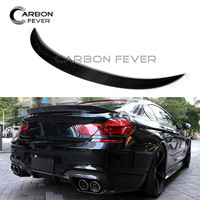 For BMW 6 Series F06 F12 F13 Carbon Fiber Rear Spoiler Wing 640i 640d 650i 2011 - 2017