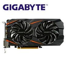 GIGABYTE tarjetas gráficas originales GTX1060, 3GB, mapa de tarjeta de vídeo para nVIDIA Geforce GTX1063 OC GDDR5 192Bit, Hdmi, tarjetas de vídeo usadas