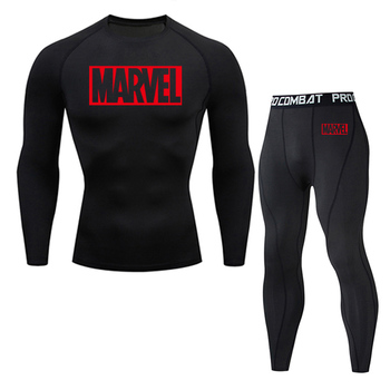 цена на Man underwear brand clothing Winter Warm Base Spandex Tights skin compression thermal underwear underpants Fitness jogging suit