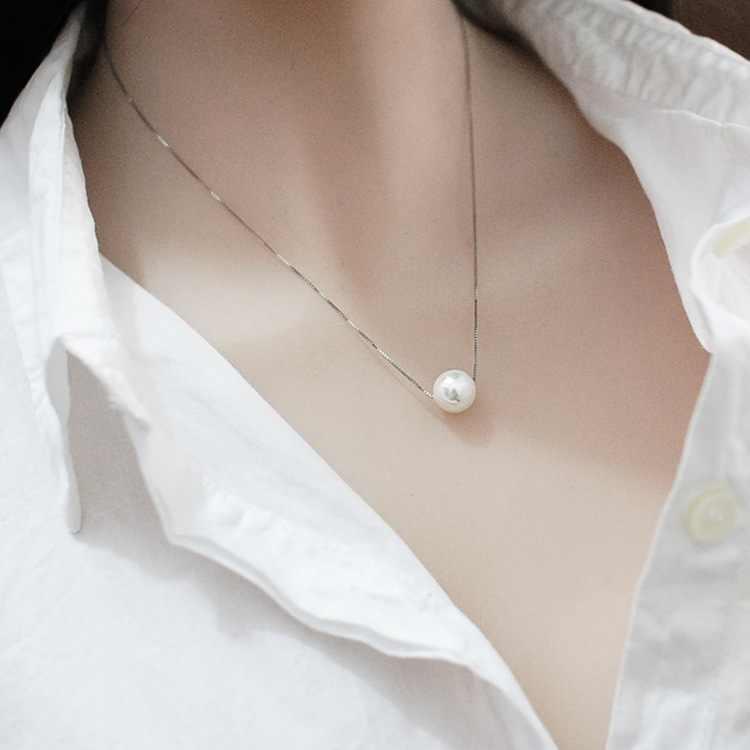 2019 Boho choker damski złoty i srebrny łańcuszek serce liść gwiazda księżyc perła długi naszyjnik biżuteria hurtowych naszyjniki