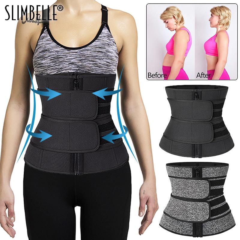 Waist Trainer Corset Sport Shaper Weight Loss Tummy Control Cinchers Sweat Belts