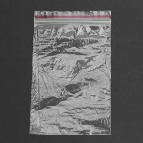100 штук 12*8 см прозрачный пластиковый уплотнитель застежка молния закрытый мешок