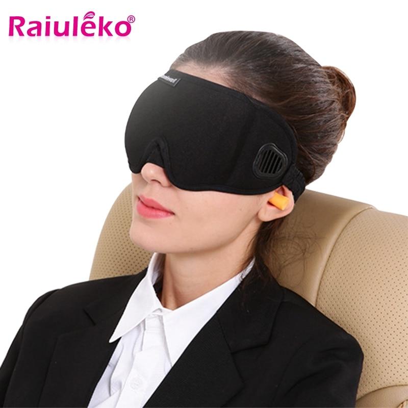 3D Stereoscopic Sleep Mask Soft Velve Breathable Sleeping Eye Mask Eye Rest Massage 100% Shading Strap Adjustable for Men Women