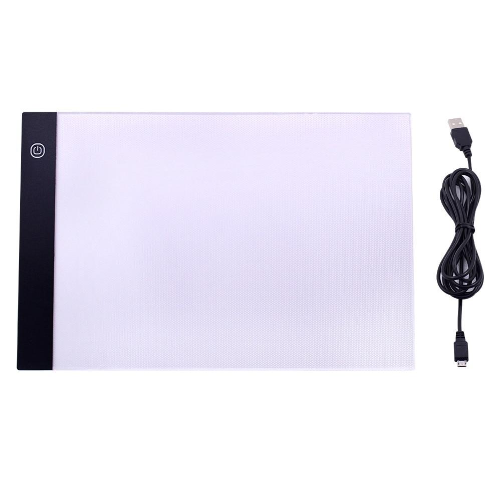 3-niveau dimbare LED-tekening kopiëren pad bord voor baby A5-formaat - Leren en onderwijs - Foto 6