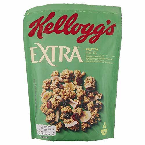 Kellogg's Cereales Extra Fruta - 2 Paquetes De 375 Gr - Total: 750 Gr