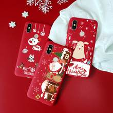 Merry Christmas Deer For TPU Xiaomi Mi 9T Pro 9 SE F1 A1 A2 5X 6X 8 Lite Redmi Note 7 Pro 7 Y3 K20 Pro 7A 5A 6A 6 5 5A soft Case(China)