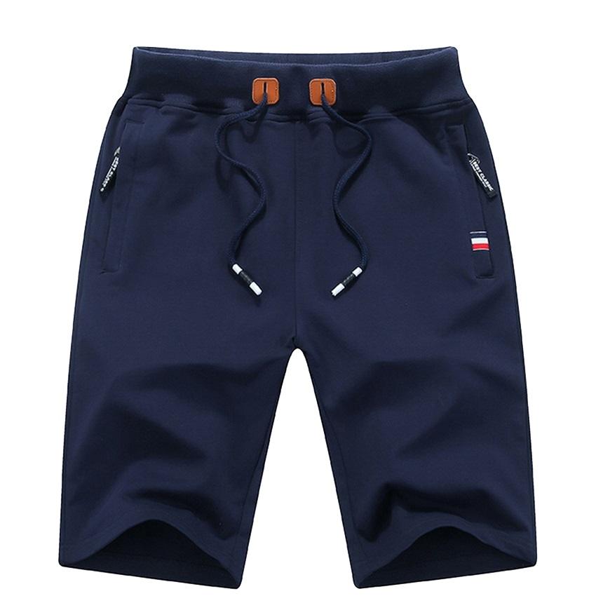 Men's Summer Breeches Shorts 2021 Cotton Casual Bermudas Black Men Boardshorts Homme Classic Brand Clothing Beach Shorts Male