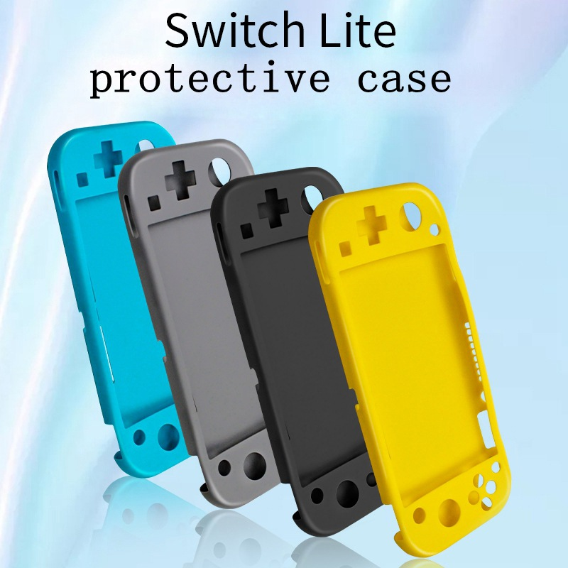 Protection Cover For Nintend Switch Lite Case Shell Console Controller Accessories With Stand Cases Soft Anti-slip Silicone