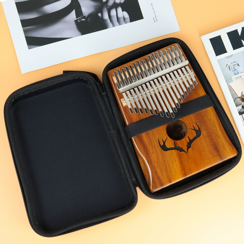 10/17/21 Keys Kalimba Case Thumb Piano Case Water-resistant Shock-proof Mbira Box Bag