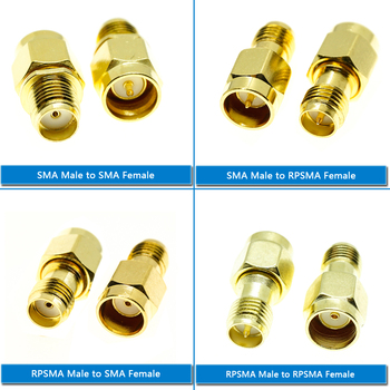 RP SMA SMA Male Female Jack To RP SMA SMA Male Female Push-On Quick Directly Plug Socket Brass Straight Coaxial RF Adapters sale 10 pcs adapter rp sma male jack to rp sma female connector straight gold plating high quality minijack plug wire connector