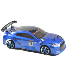 цены HSP Racing Rc Drift Car 4wd 1:10 Electric Power On Road Rc Car 94123 FlyingFish 4x4 vehicle High Speed Hobby Remote Control Car