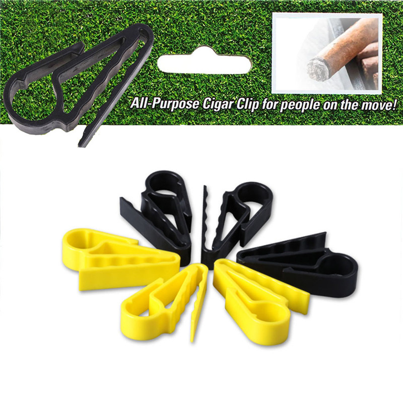 New Arrived Golf Accessories Golf Cigars Cigarette Holder Clips Clamp Boat Minder Grip Clip Clamp Golf Tool