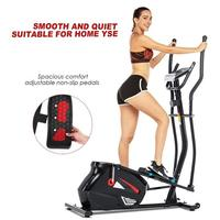 Elliptical Trainer LCD Display Bicycle Fitness Exercise Bike Stationary Body Building Fitness Equipment Cardio Tools Home