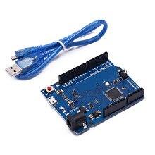 Leonardo r3 microcontrolador atmega32u4 placa de desenvolvimento com cabo usb compatível para arduino diy starter kit