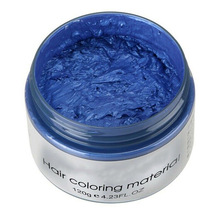 Одноразовая краска для волос, воск, грязевая краска, крем, сделай сам, цвет ing, безопасный, быстрый, для укладки волос, SSwell