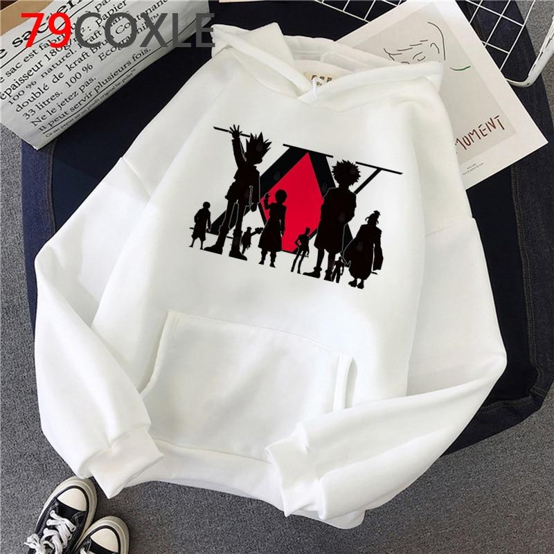 Hot Japanese Anime Hunter X Hunter Hoodies Men Kawaii Hip Hop Cartoon Hisoka Morow Graphic Streetwear Tops Sweatshirts Male