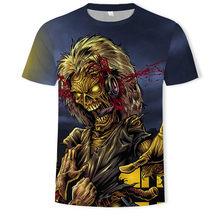 AC DC Музыка тяжелого металла классная классическая рок-группа череп голова футболка s Мода Rocksir Футболка мужская 3D футболка диск-жокея мужская рубашка