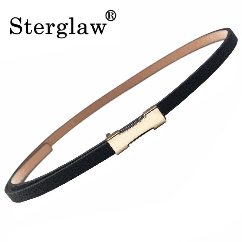 Designer Slim Belts Women High Quality Children's Belts 2020 Fashion Brand Casual Womens Dress Leather Belt Cinturon Cuero H005