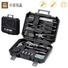 Youpin JIUXUN 12/60Pcs יד כלי סט כללי ביתי תיקון יד כלי ערכת עם ארגז כלים אחסון מקרה ברגים פטיש קלטת Plier K
